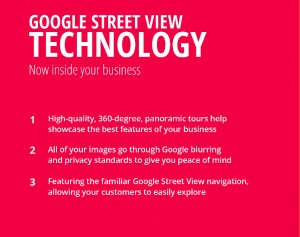 Google Street view technology, Google Business View